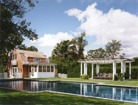 Pool House, Pool and Pergola
