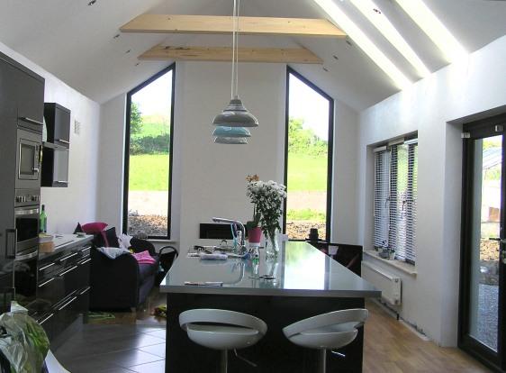 New Kitchen/family Area