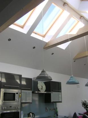 New kitchen/family